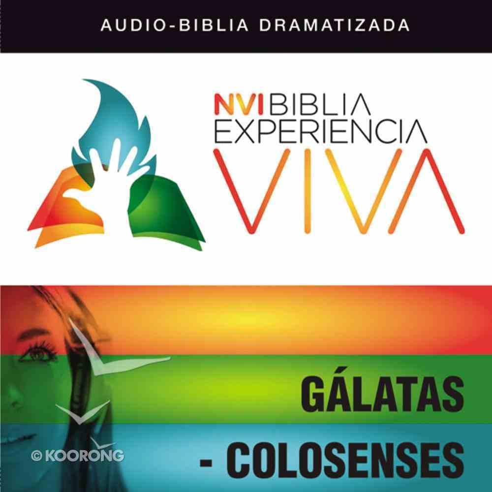 Nvi Experiencia Viva: Glatas-Colosenses eAudio Book