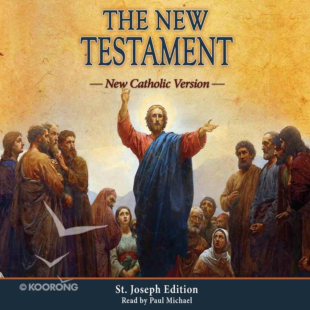 New Catholic Version New Testament (Unabridged, 14 Cds) CD