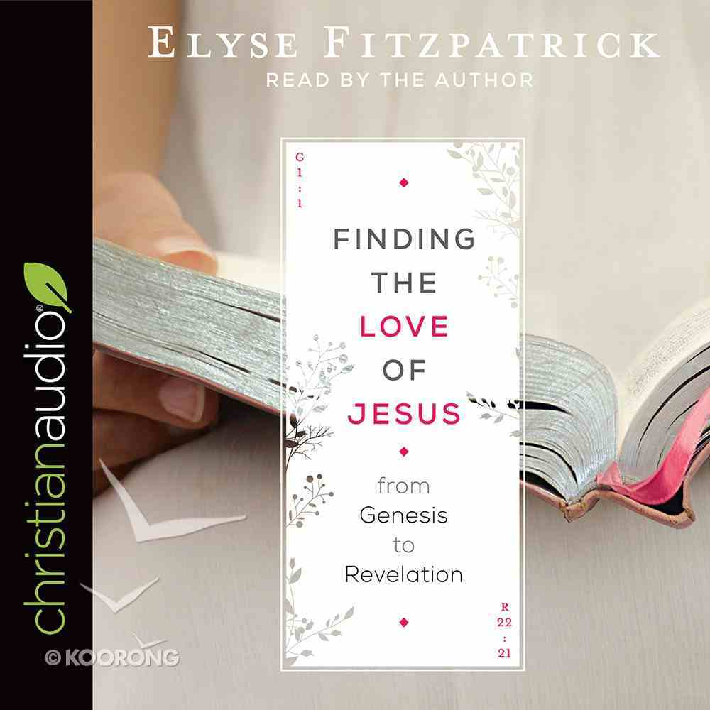 Finding the Love of Jesus From Genesis to Revelation eAudio Book