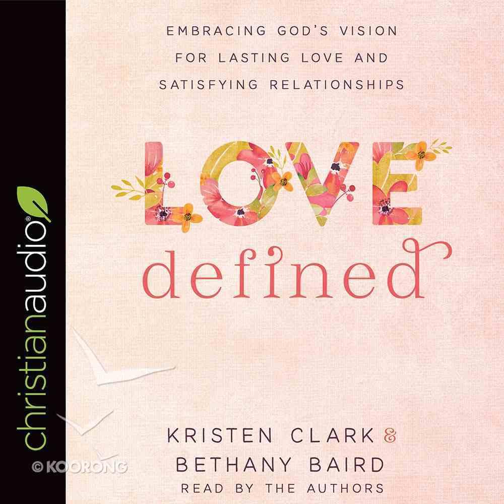 Love Defined eAudio Book