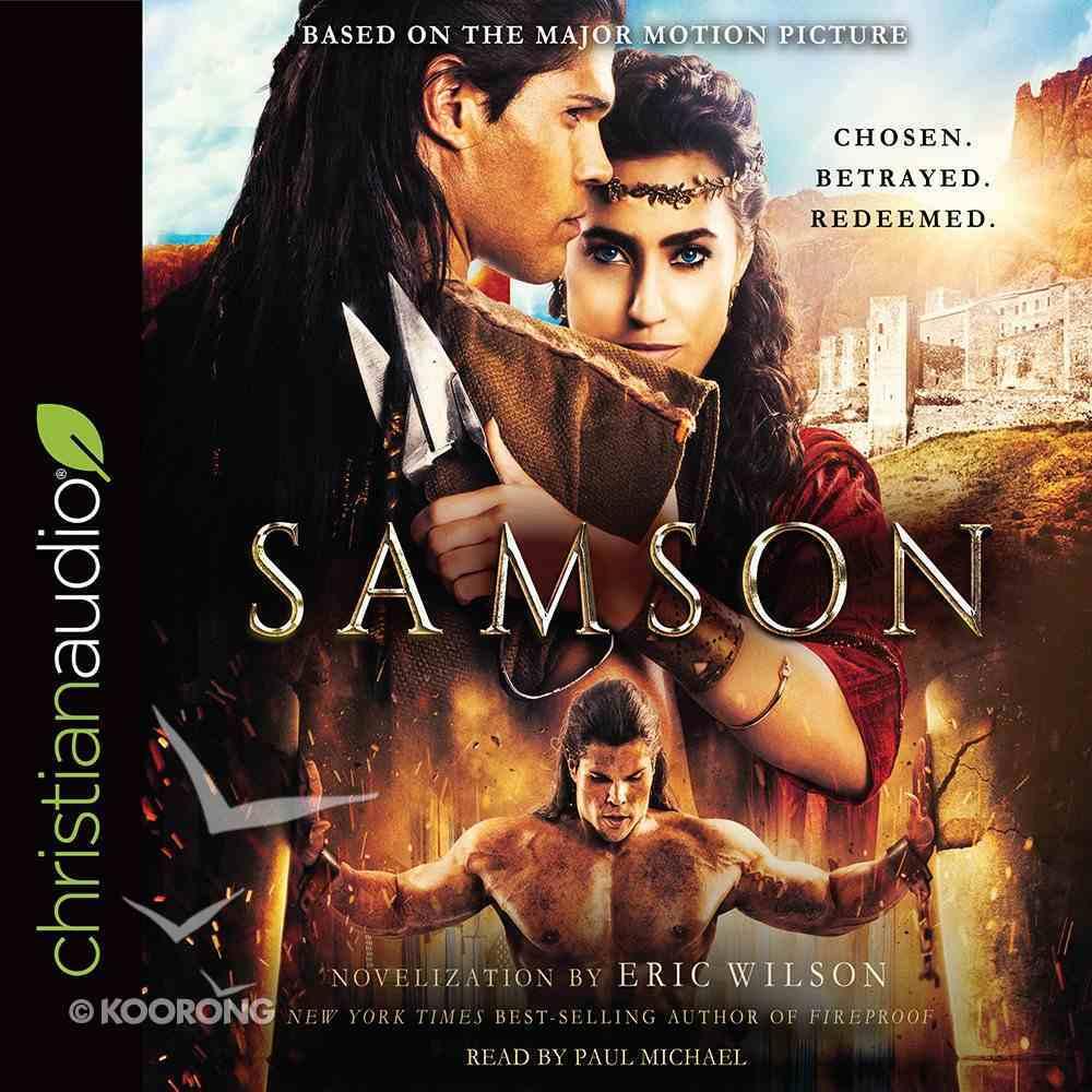 Samson: Chosen. Betrayed. Redeemed (Unabridged, 7 Cds) CD