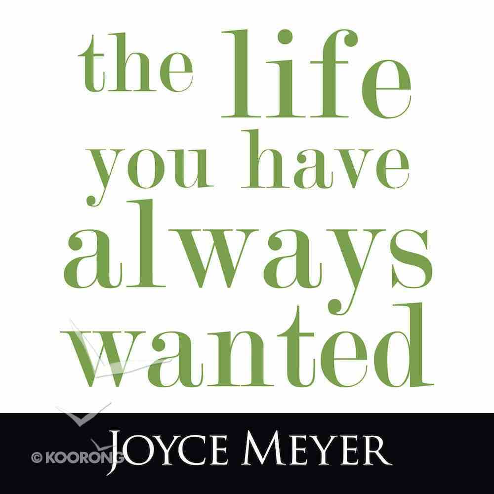 The Life You Have Always Wanted eAudio Book