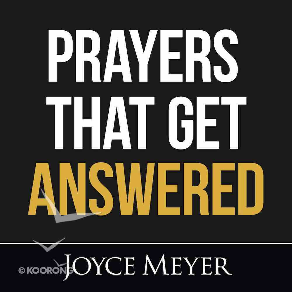 Prayers That Get Answered eAudio Book