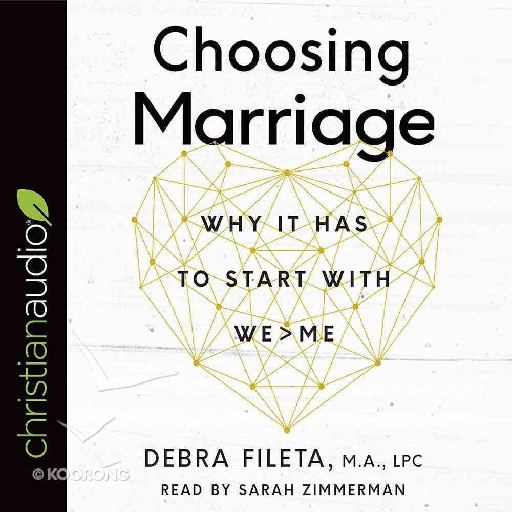 Choosing Marriage eAudio Book