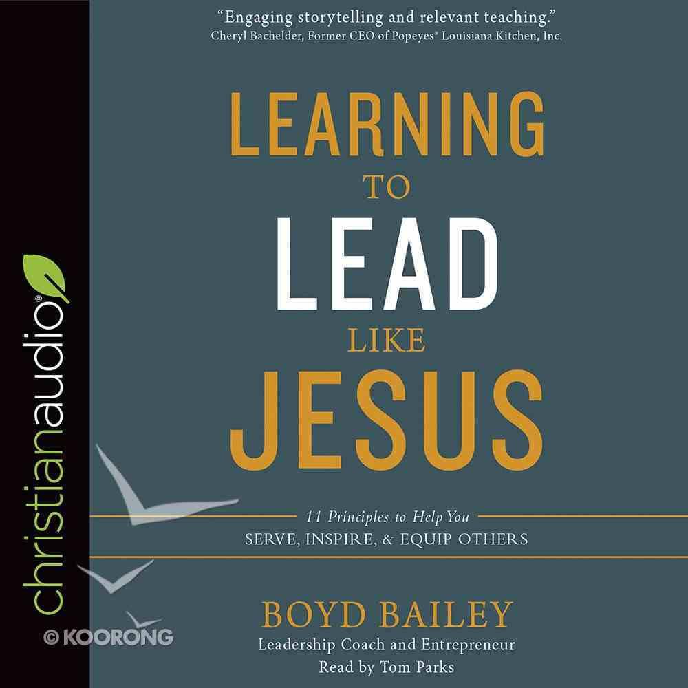 Learning to Lead Like Jesus eAudio Book