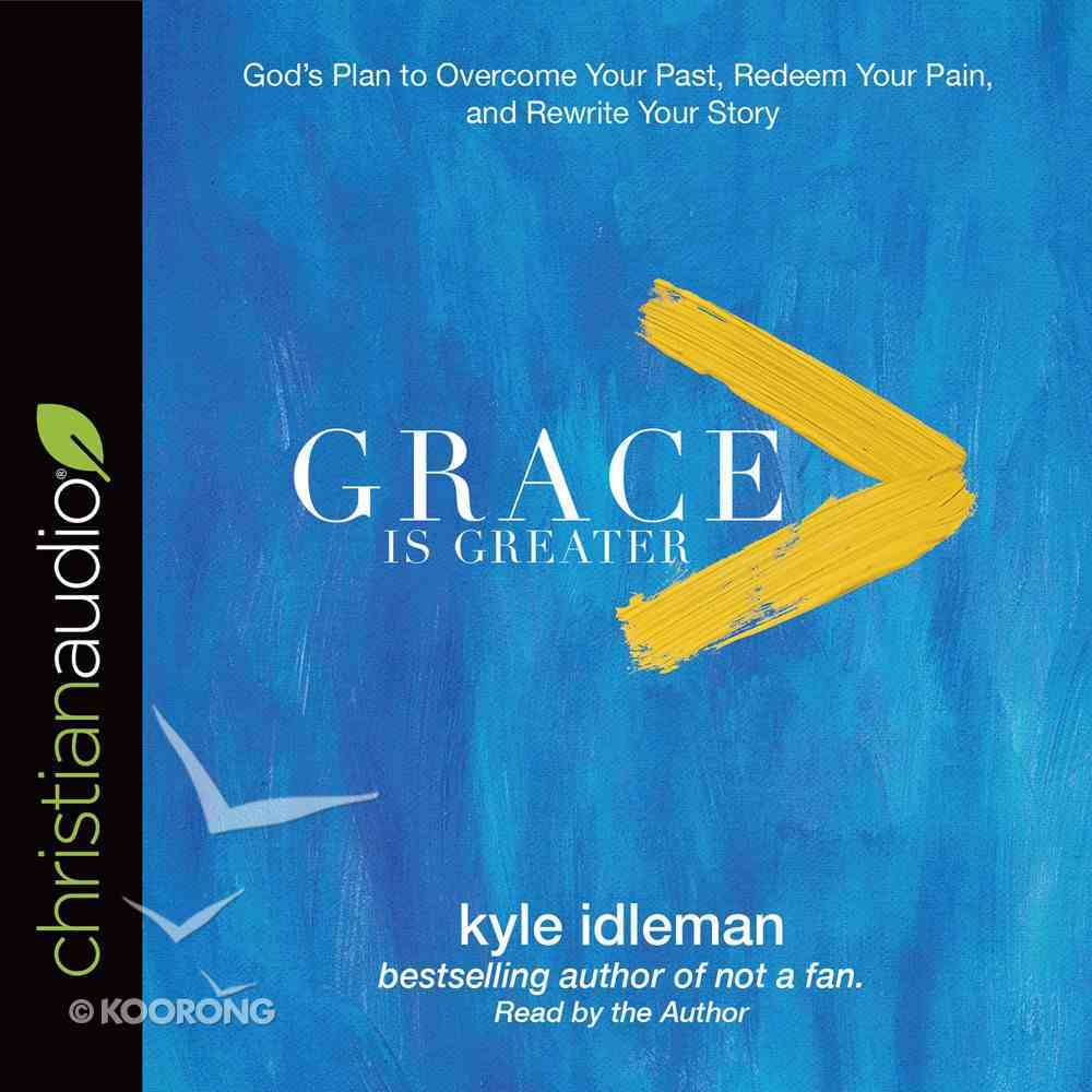 Grace is Greater eAudio Book