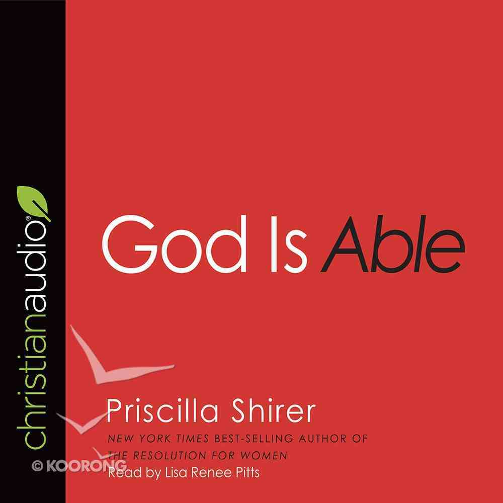 God is Able (Unabridged, 3 Cds) CD