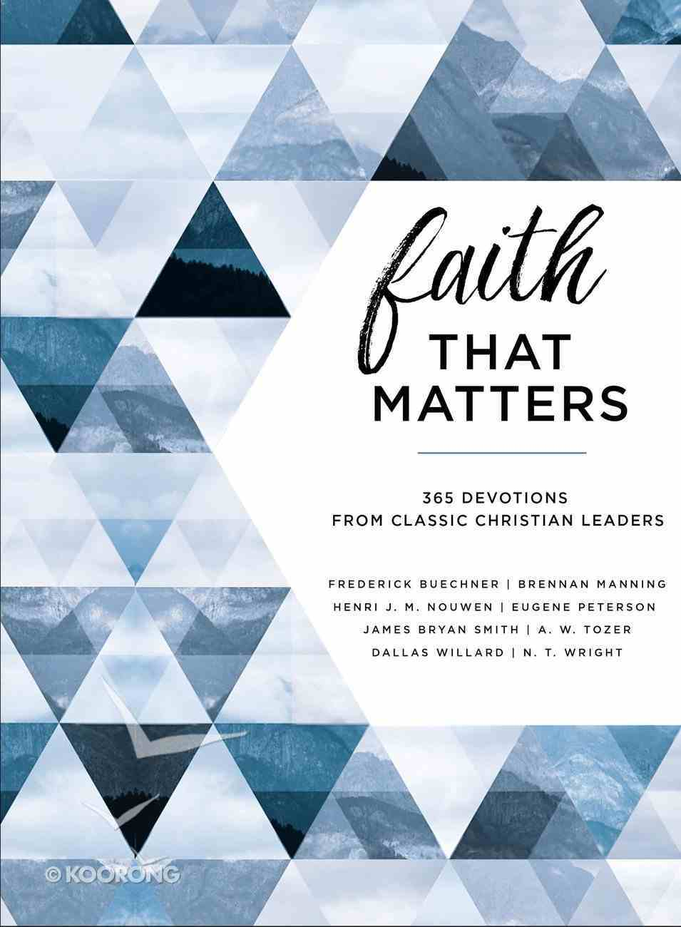 Faith That Matters eBook