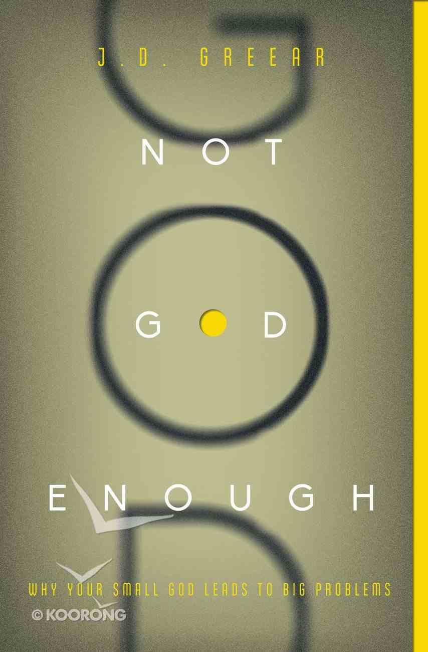 Not God Enough eBook