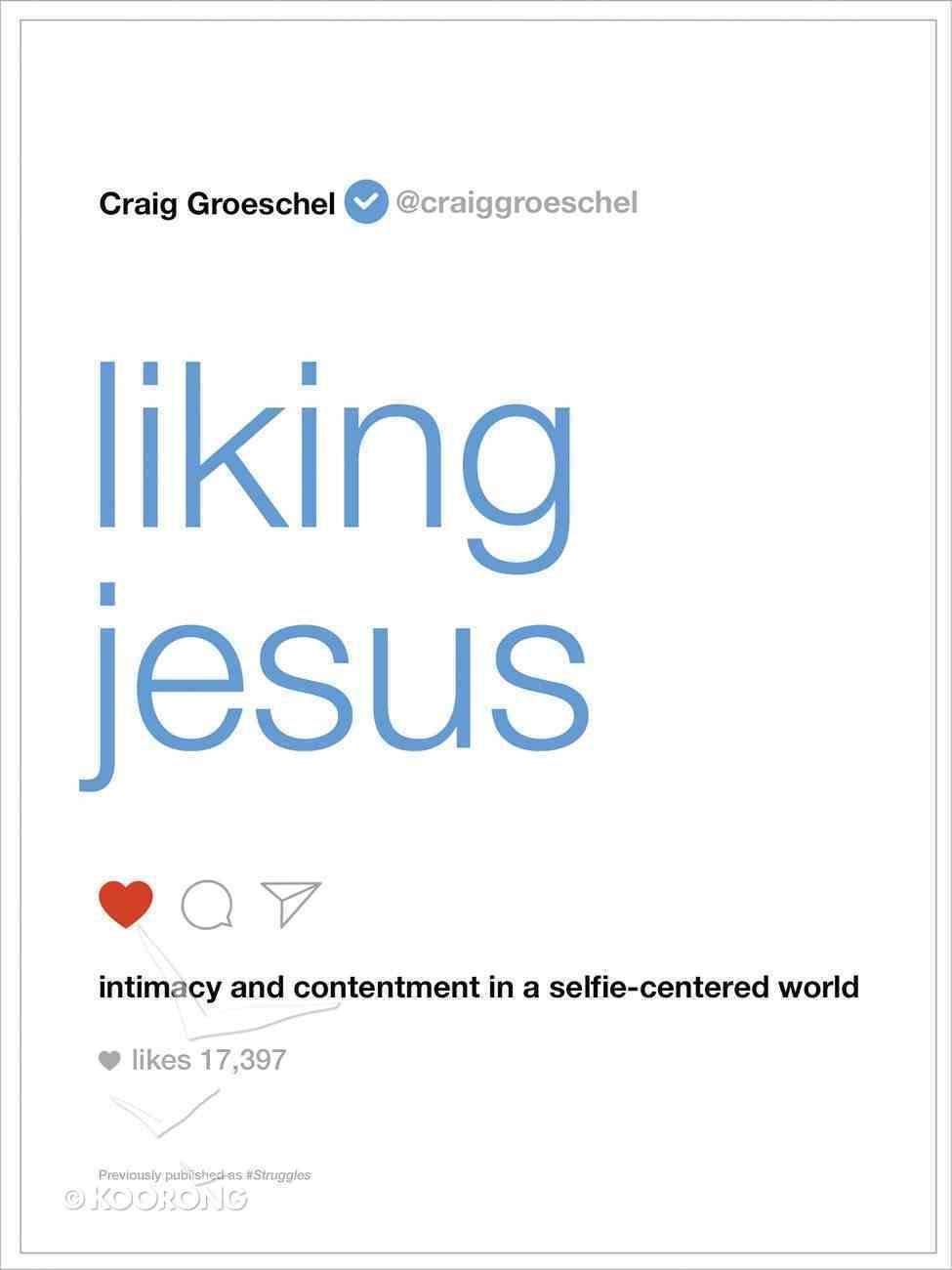 Liking Jesus eBook