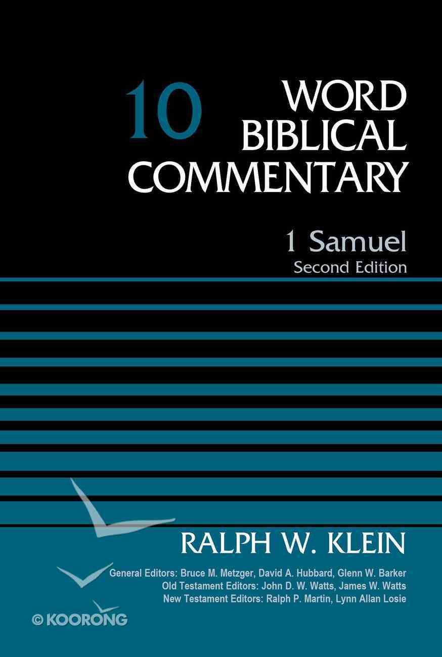 1 Samuel, Volume 10 (Word Biblical Commentary Series) eBook