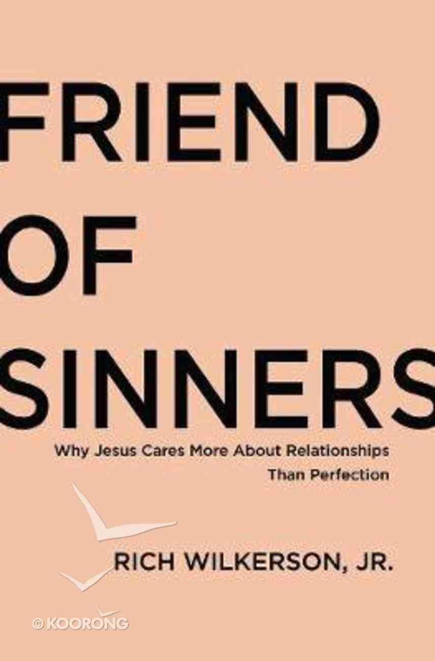Friend of Sinners eBook
