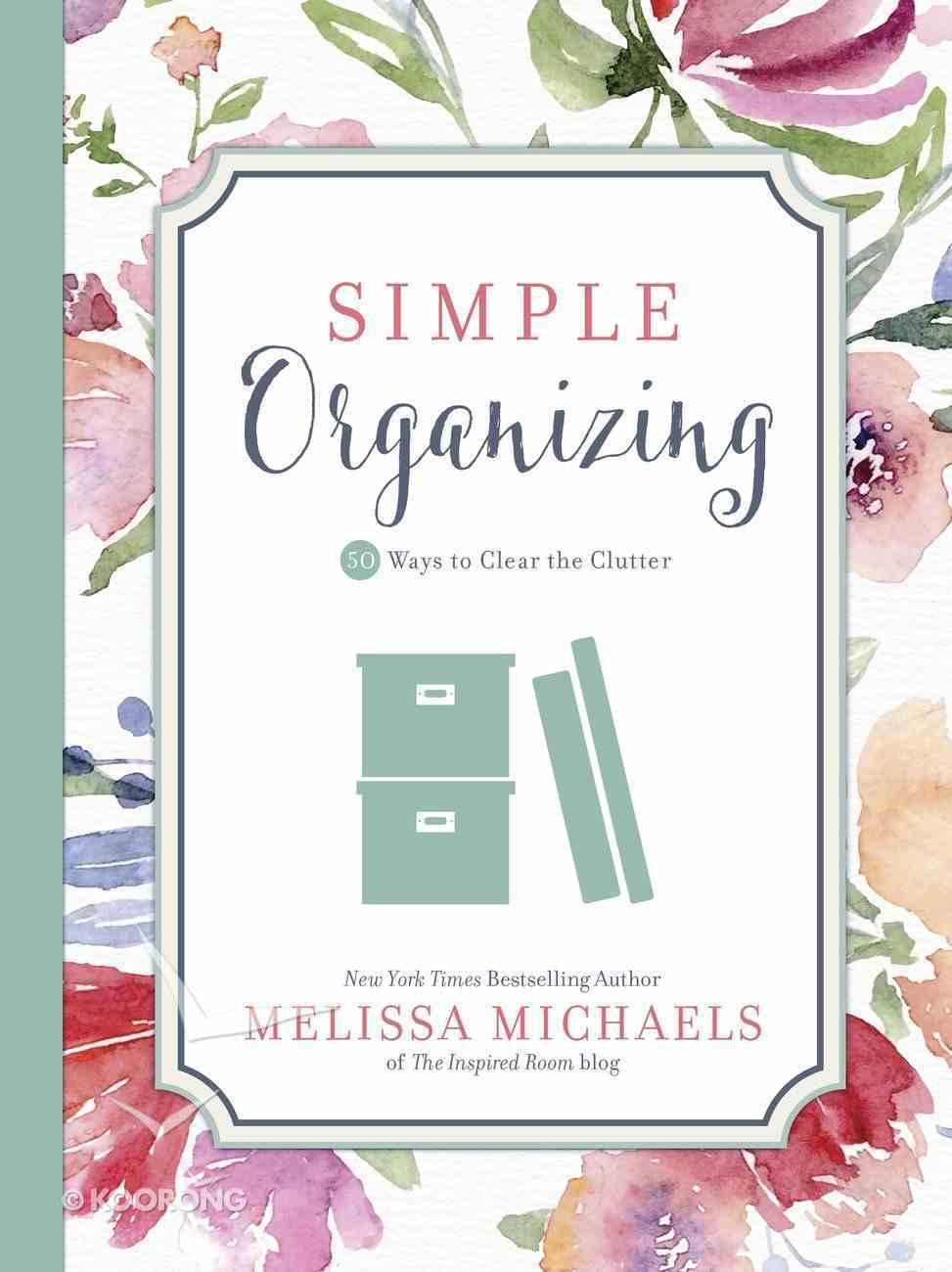 Simple Organizing eBook