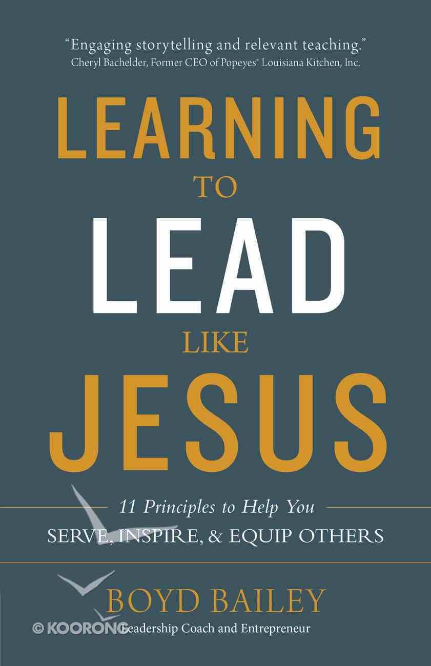 Learning to Lead Like Jesus eBook