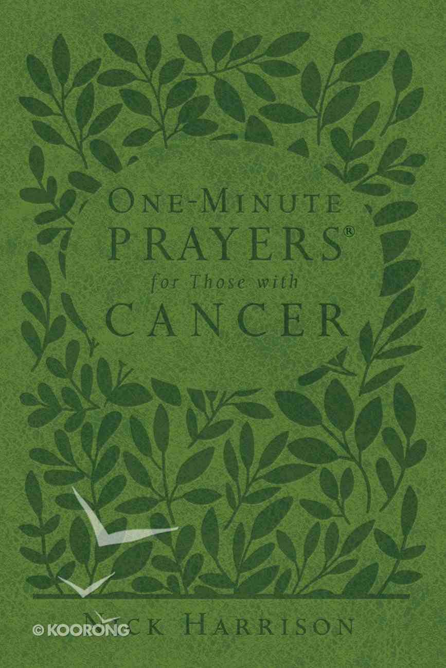 One-Minute Prayers For Those With Cancer eBook