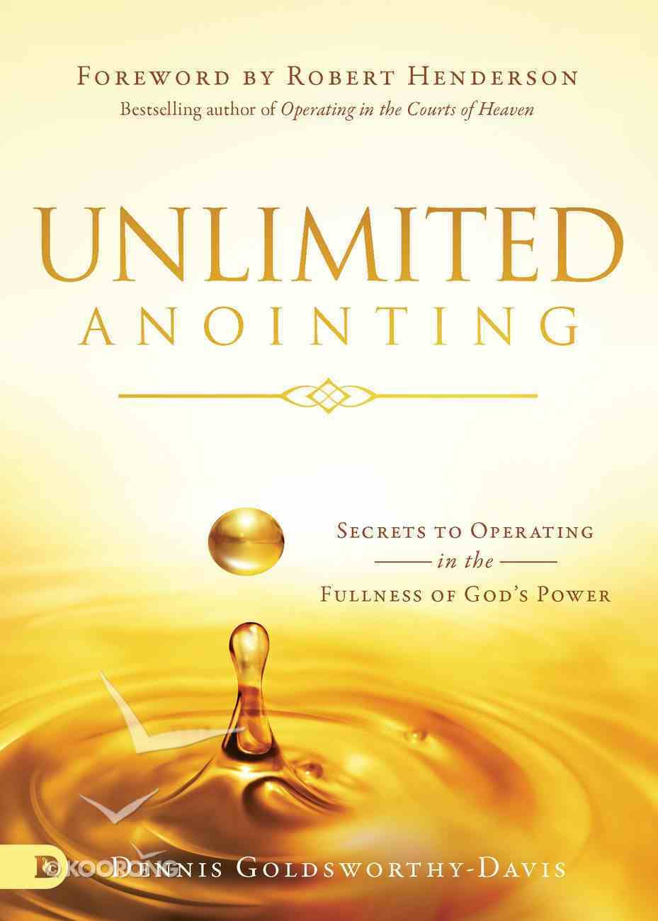 Unlimited Anointing eBook