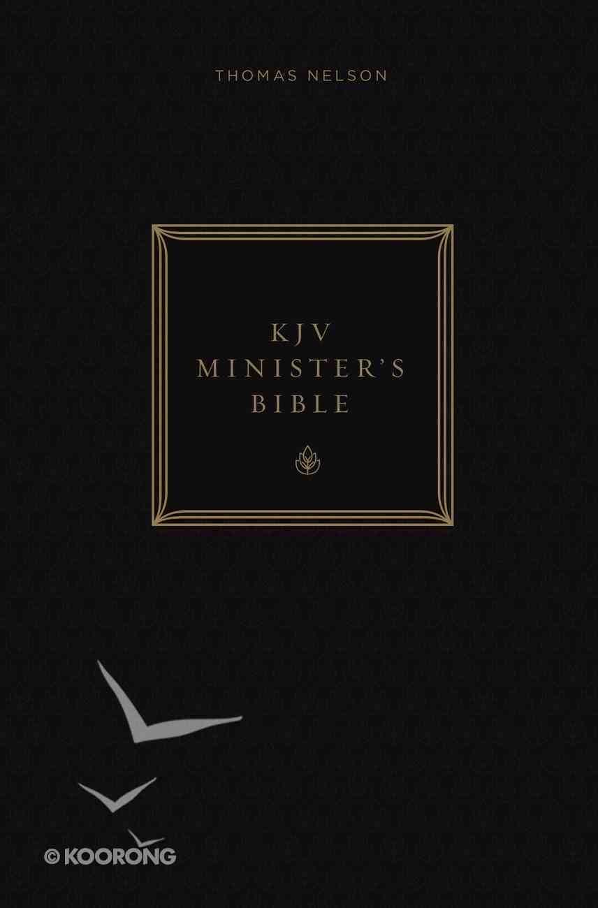KJV, Minister's Bible, Ebook (Red Letter Edition) eBook