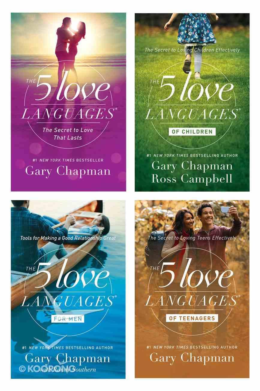 5 Love Languages/5 Love Languages For Men/5 Love Languages of Teenagers/5 Love Languages of Children (Set) eBook