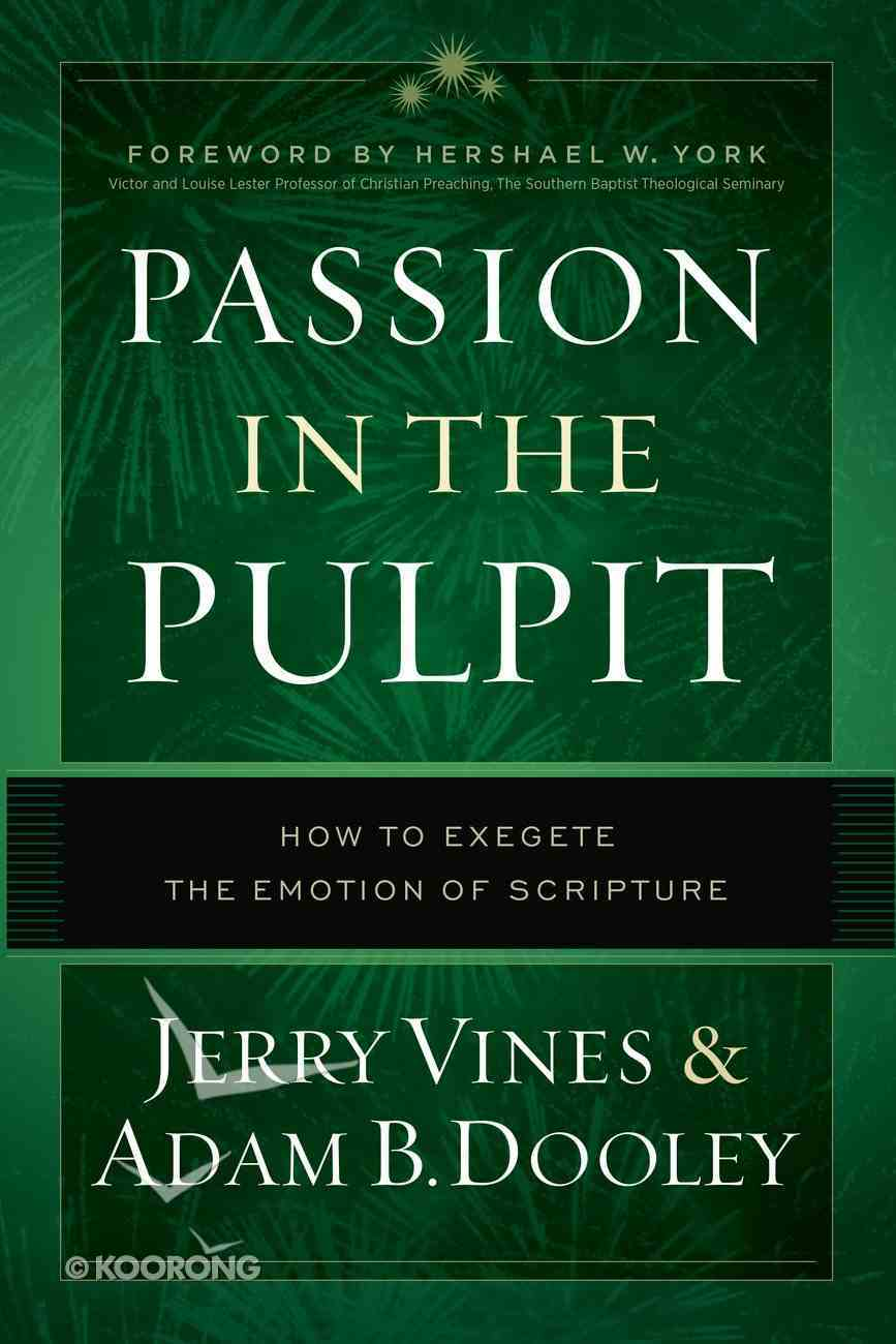 Passion in the Pulpit eBook