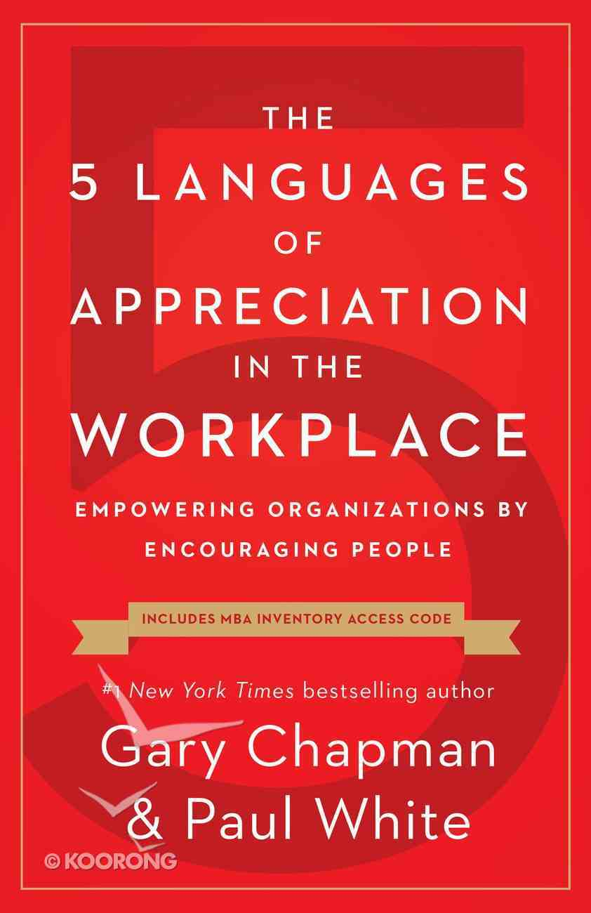 The 5 Languages of Appreciation in the Workplace eBook
