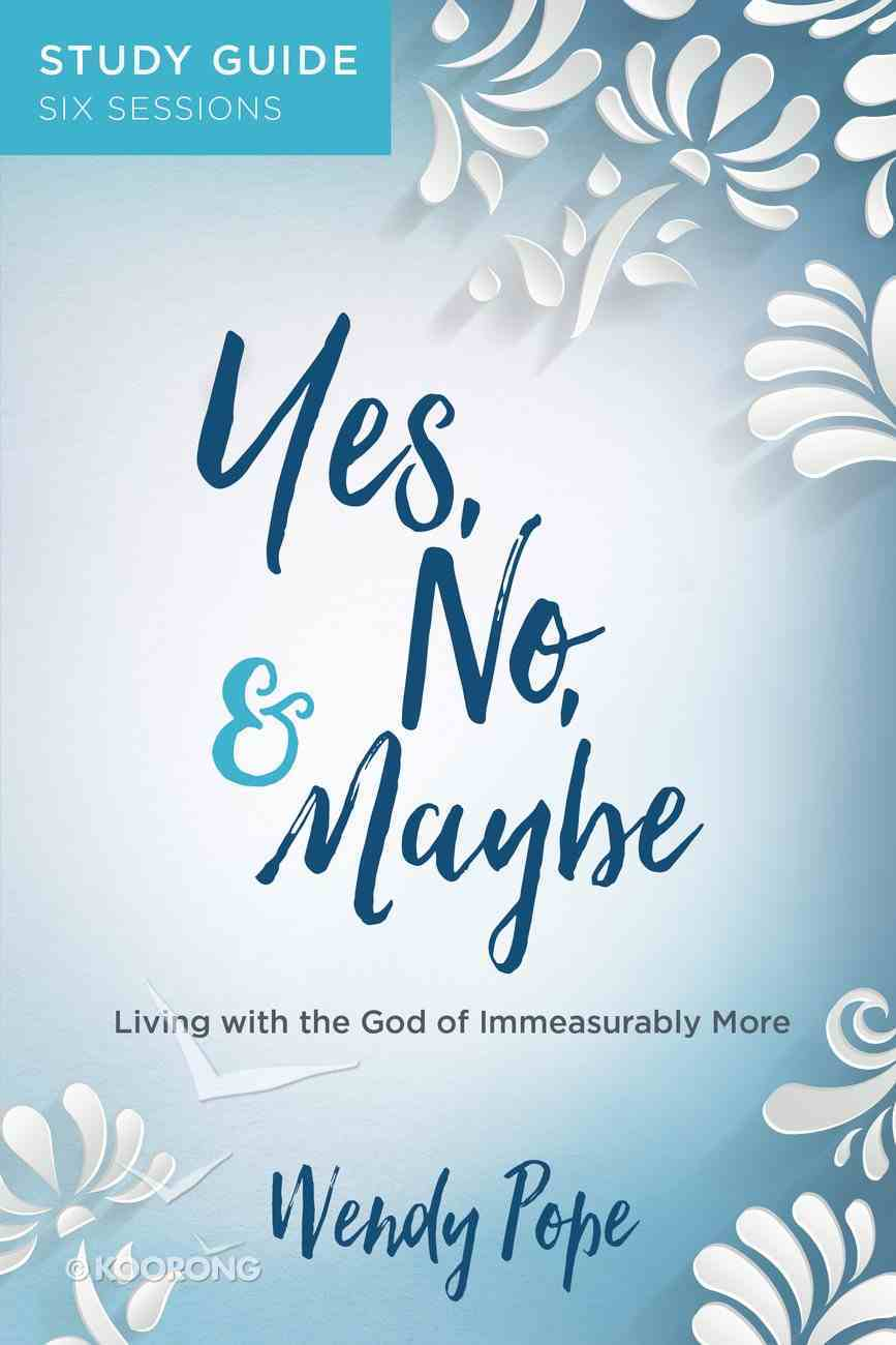 Yes, No, and Maybe Study Guide eBook
