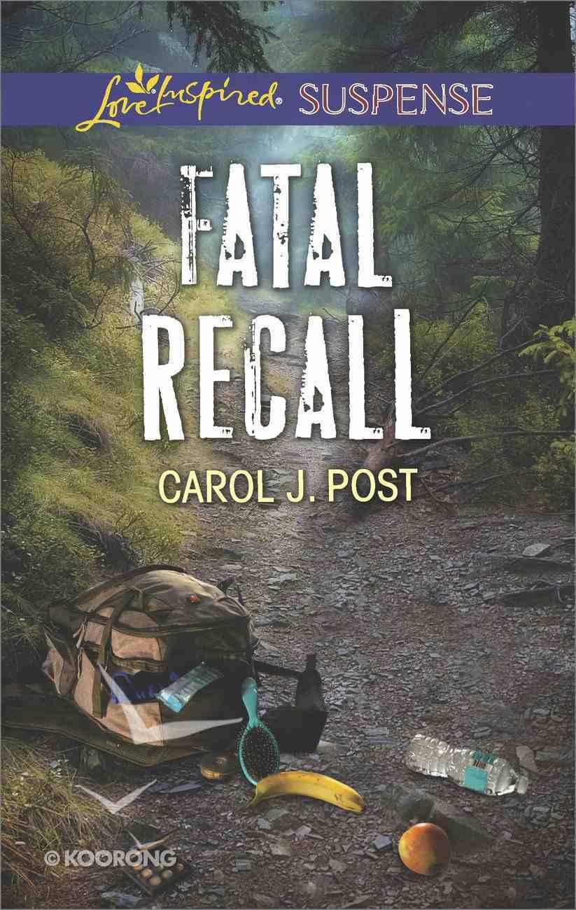 Fatal Recall (Love Inspired Suspense Series) Mass Market