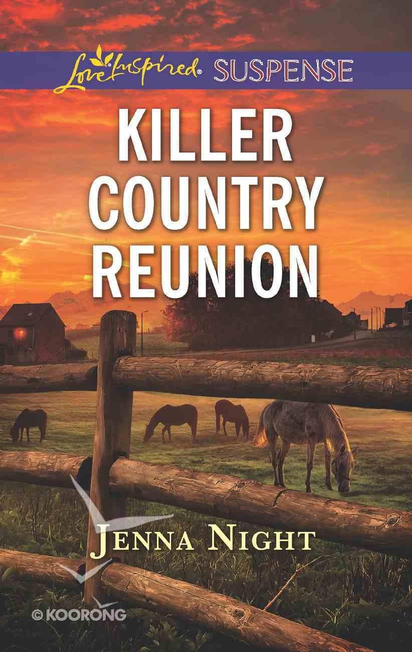 Killer Country Reunion (Love Inspired Suspense Series) Mass Market