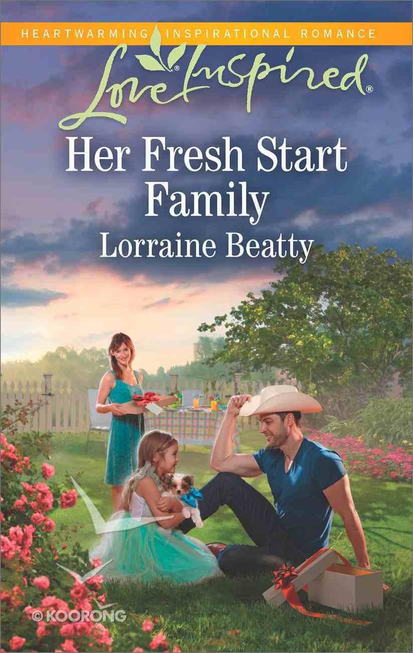 Her Fresh Start Family (Mississippi Hearts) (Love Inspired Series) Mass Market