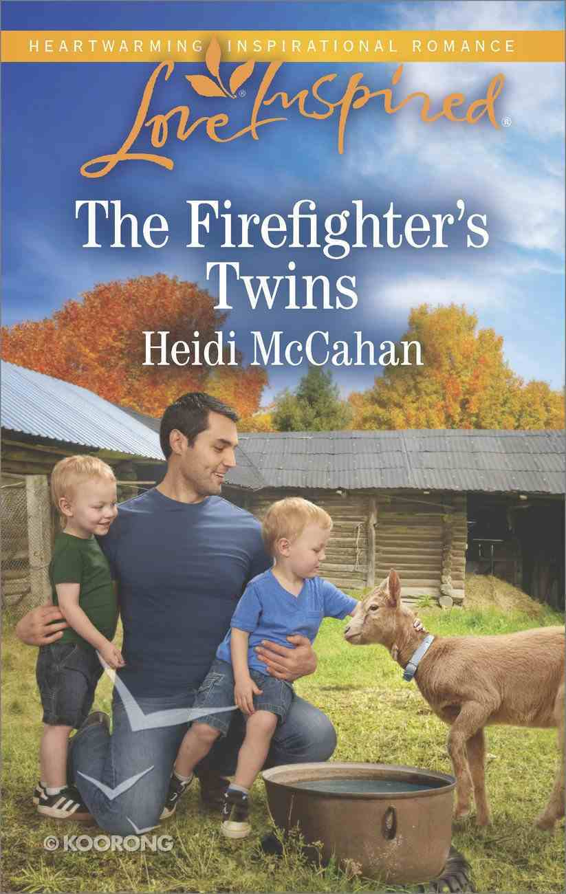 The Firefighter's Twins (Love Inspired Series) Mass Market