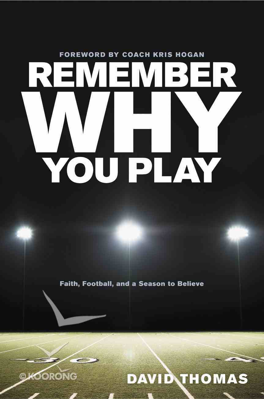 Remember Why You Play eBook