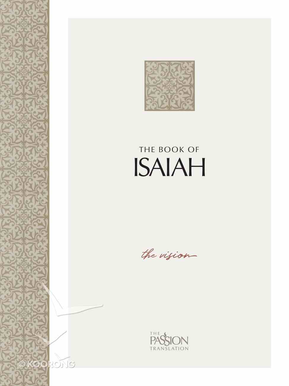 Isaiah (Black Letter Edition) eBook