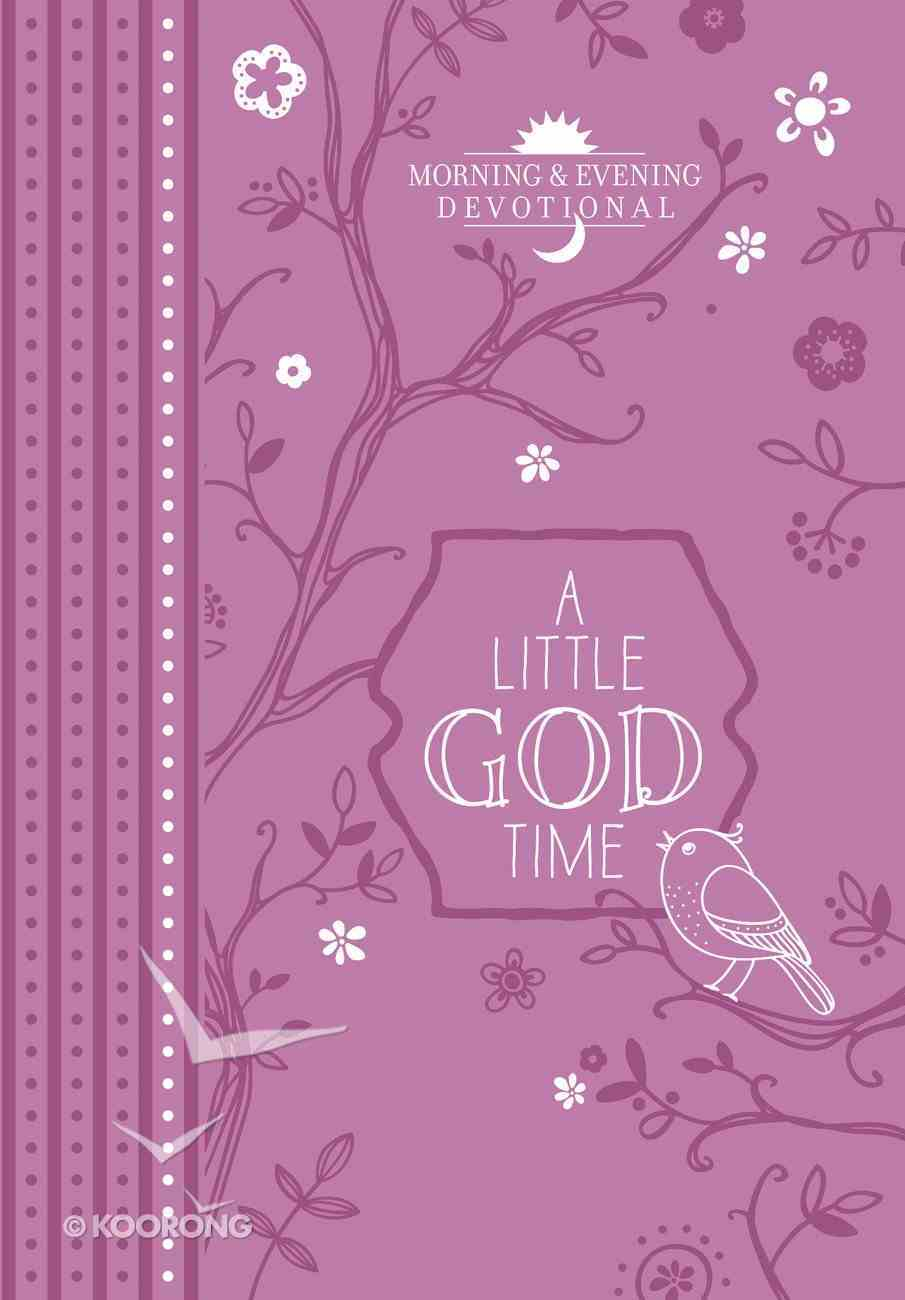 A Little God Time (365 Daily Devotions Series) eBook
