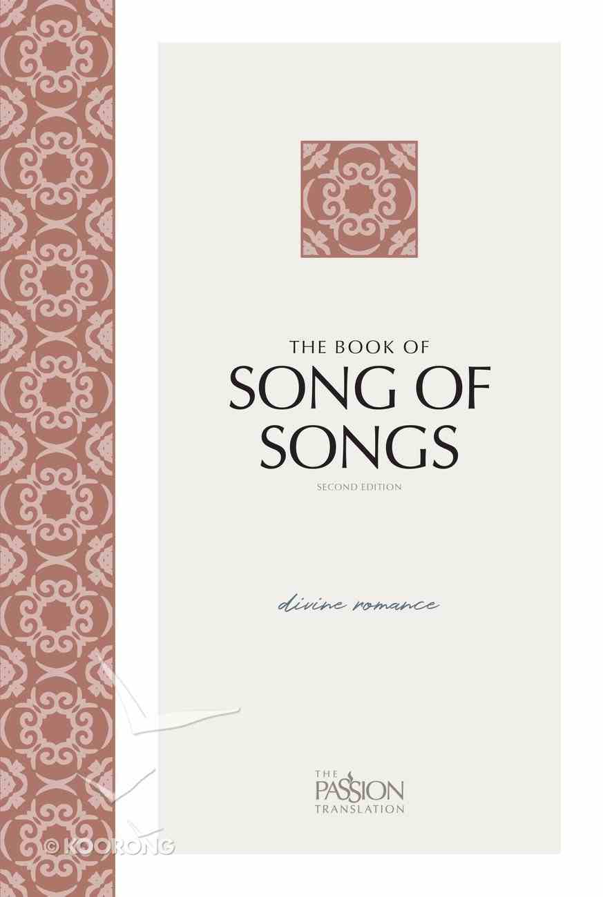 Book of Song of Songs , the (Black Letter Edition) (2nd Edition) eBook