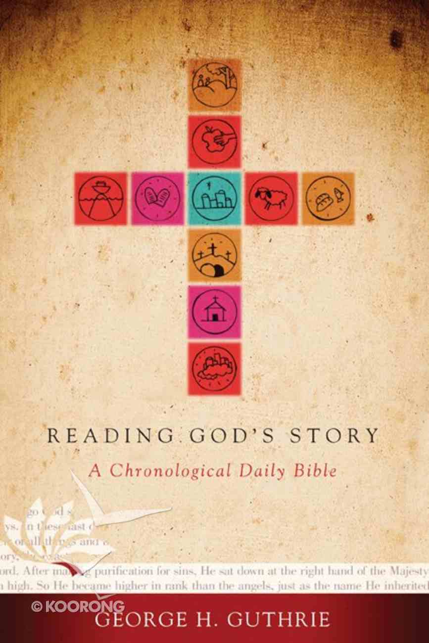 HCSB Reading God's Story a Chronological Daily Bible Hardback