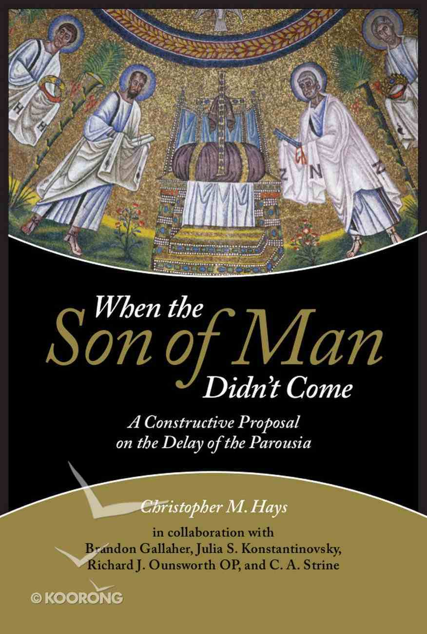 When the Son of Man Didn't Come eBook