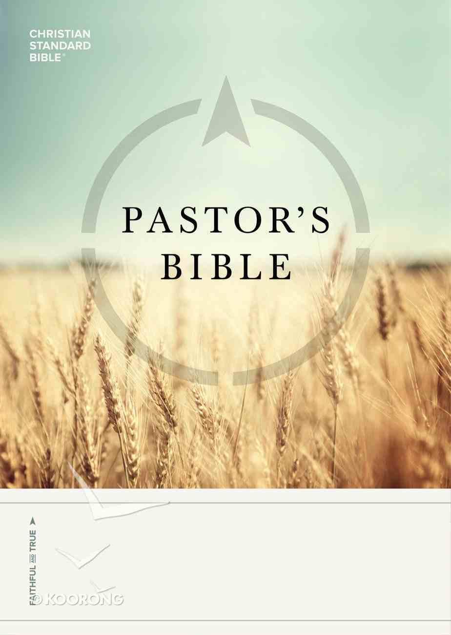CSB Pastor's Bible eBook