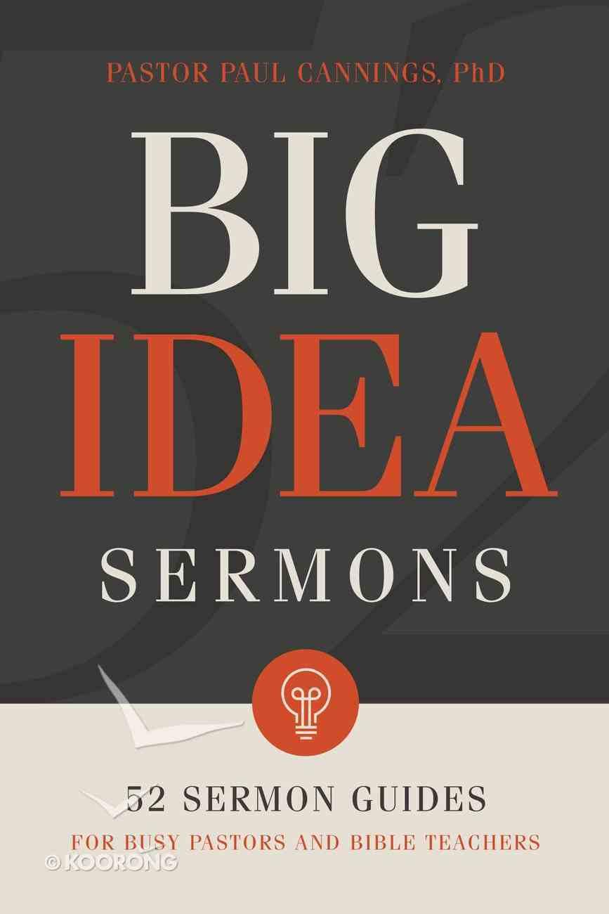 Big Idea Sermons eBook