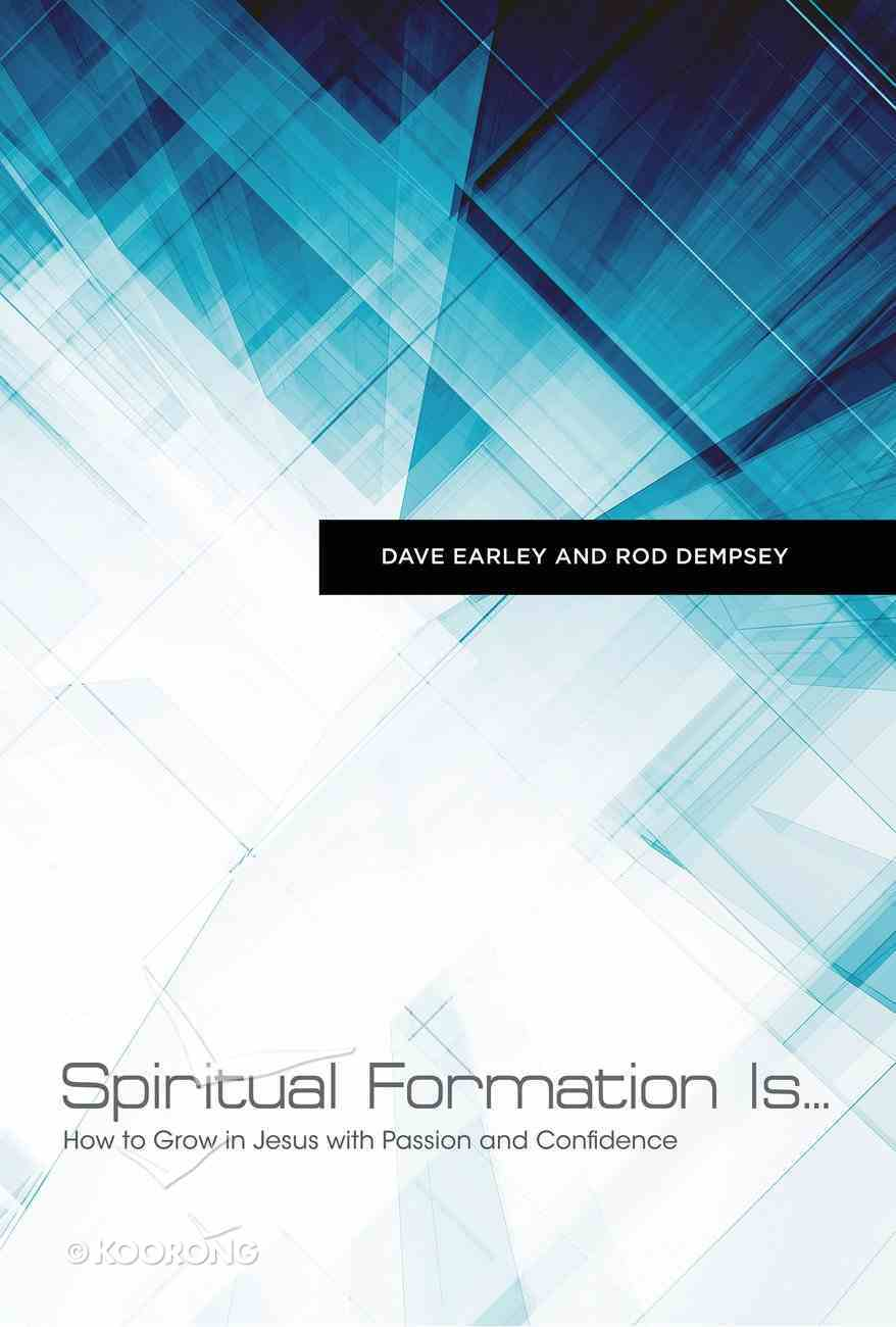 Spiritual Formation Is... eBook