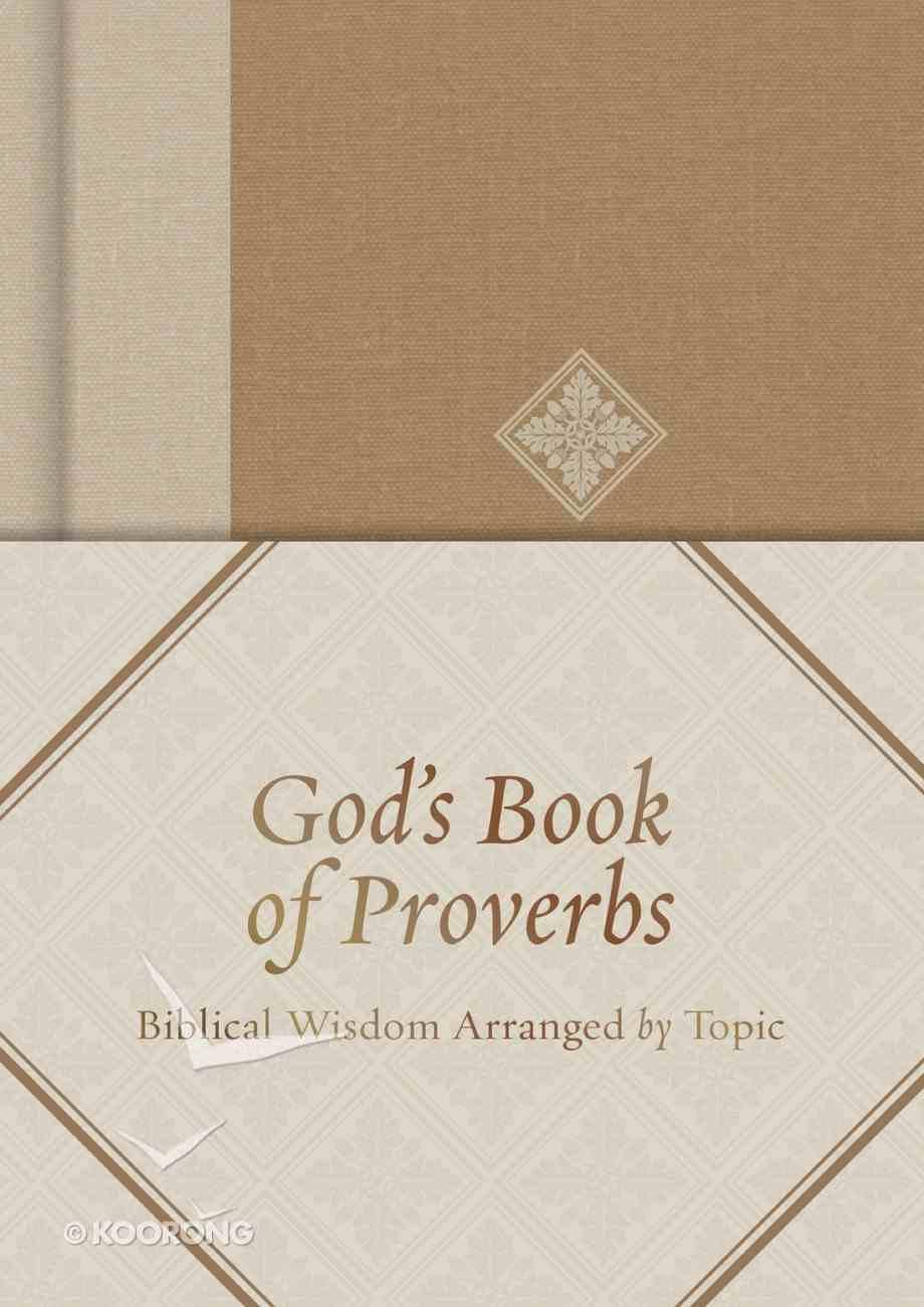 God's Book of Proverbs eBook
