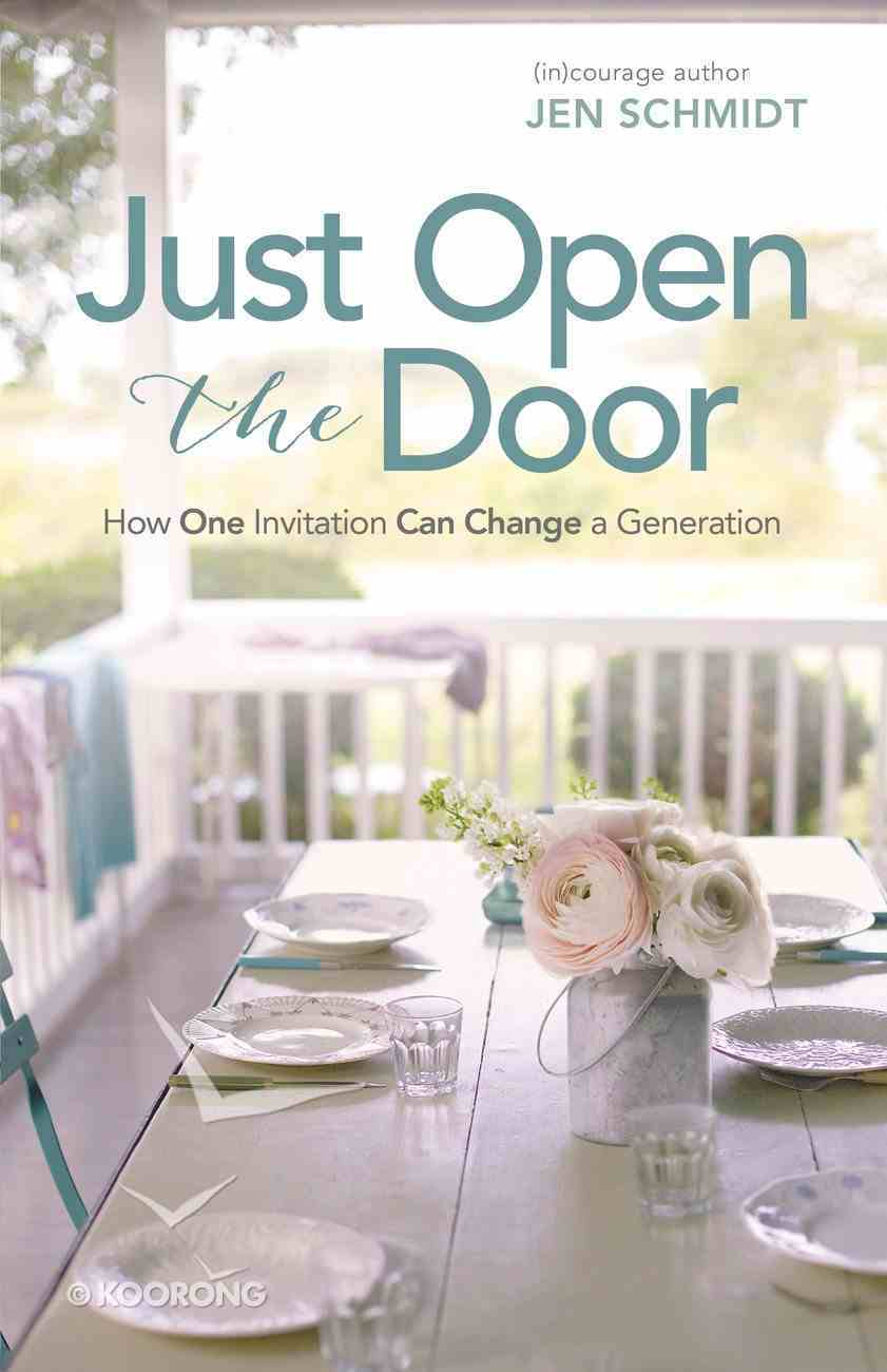 Just Open the Door eBook