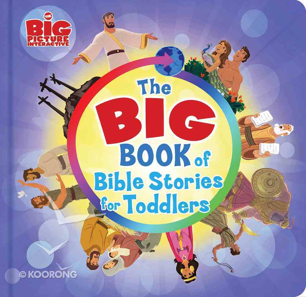 The Big Book of Bible Stories For Toddlers eBook