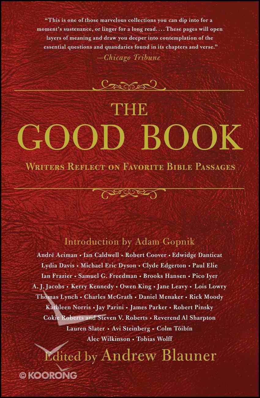 The Good Book eBook