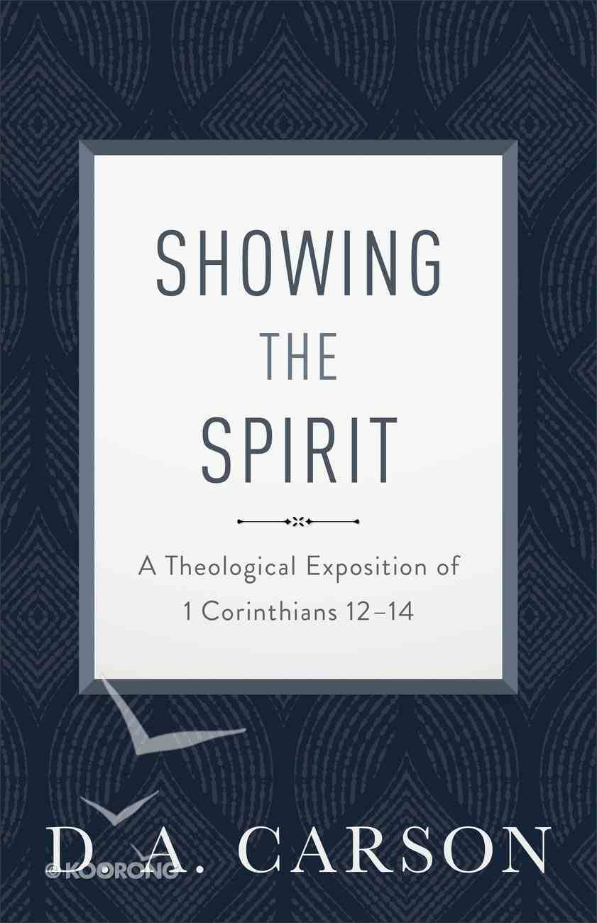 Showing the Spirit eBook