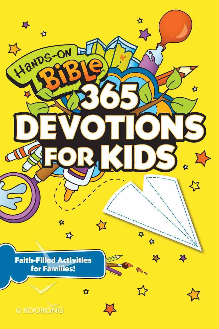 Hands-On Bible 365 Devotions For Kids eBook