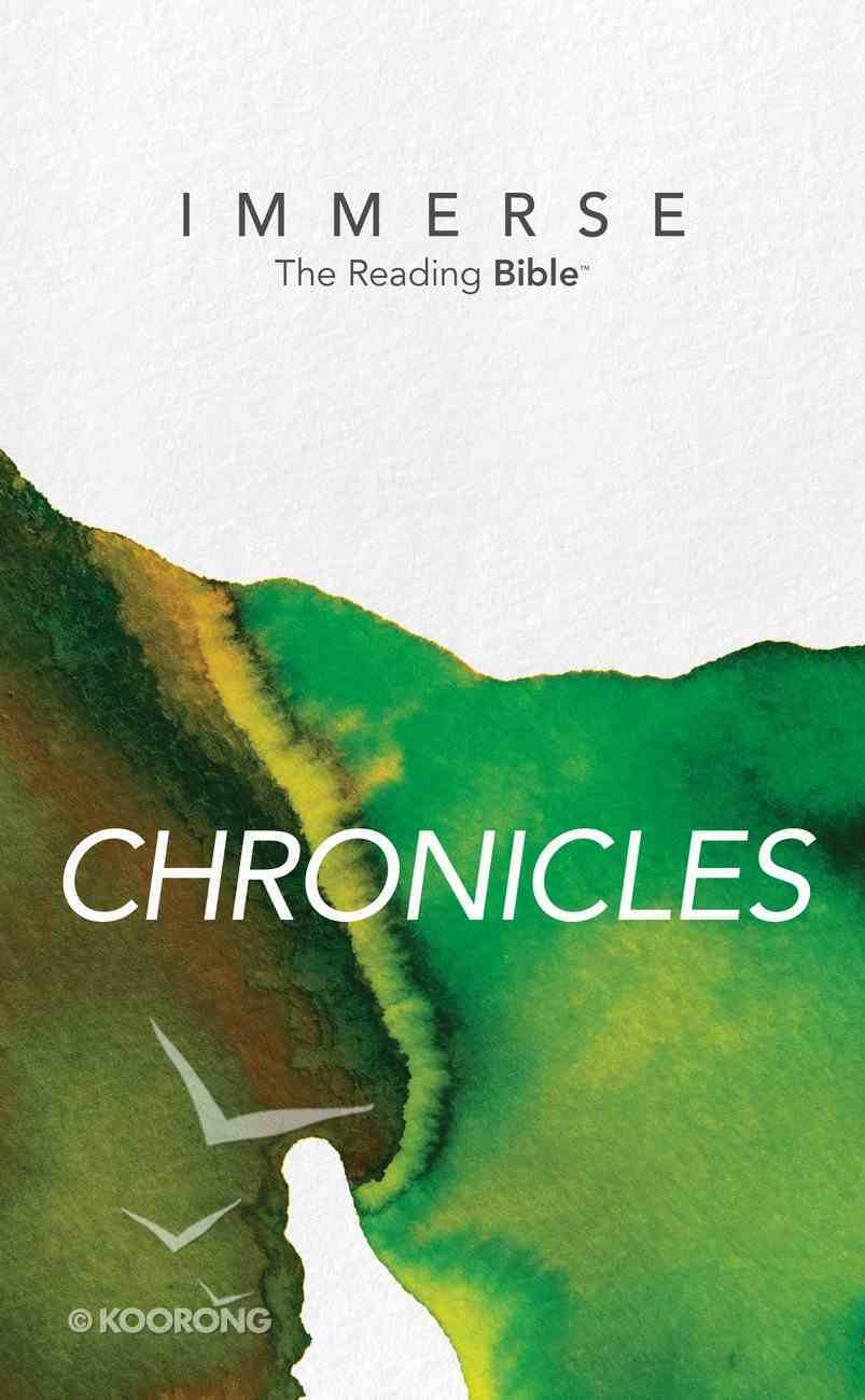 Chronicles (Immerse: The Reading Bible Series) eBook