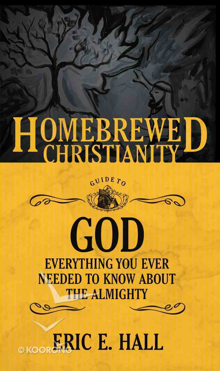 Guide to God, the - Everything You Ever Wanted to Know About the Almighty (Homebrewed Christianity Series) Paperback