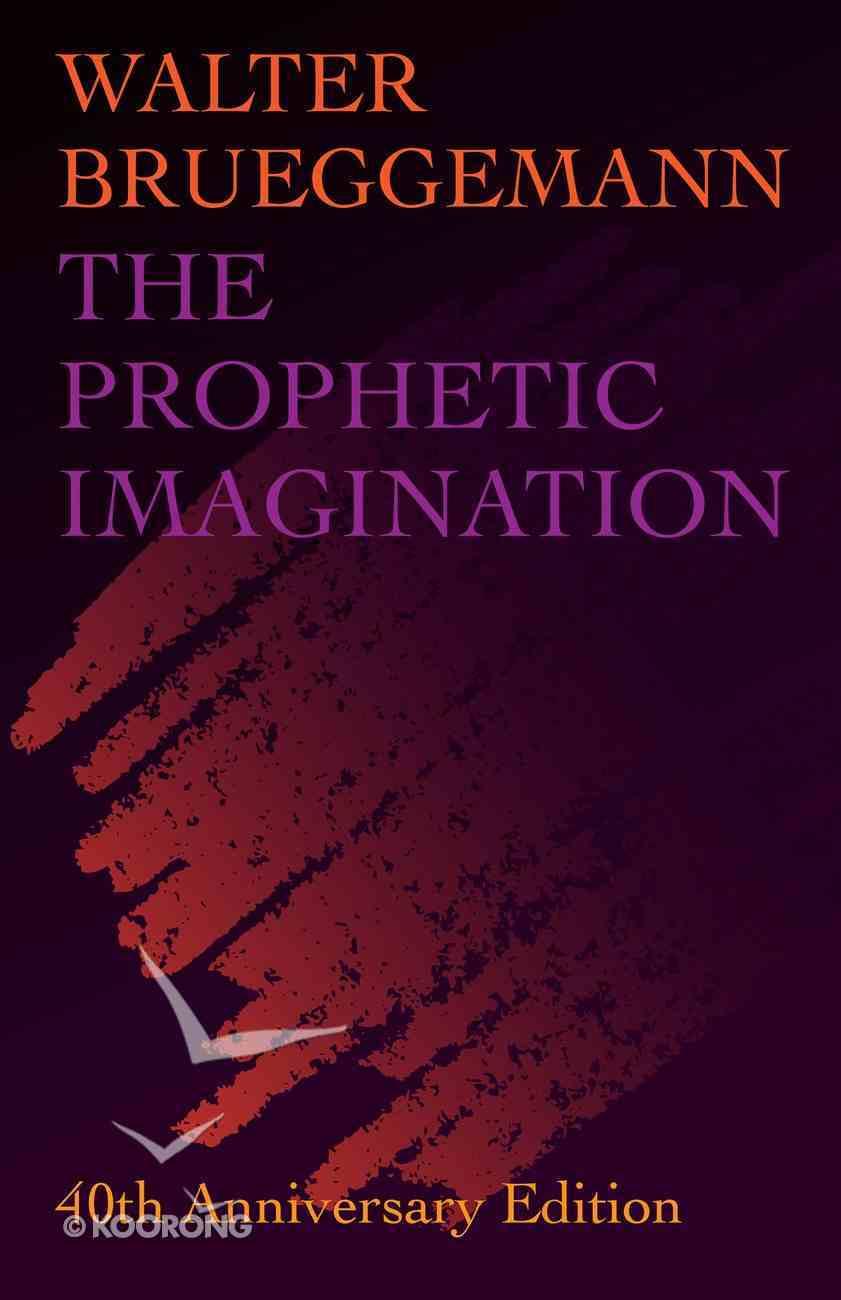 The Prophetic Imagination eBook