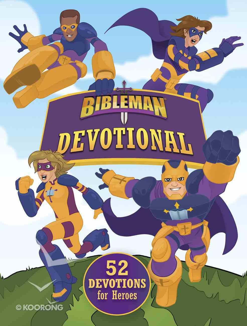 Bibleman Devotional eBook