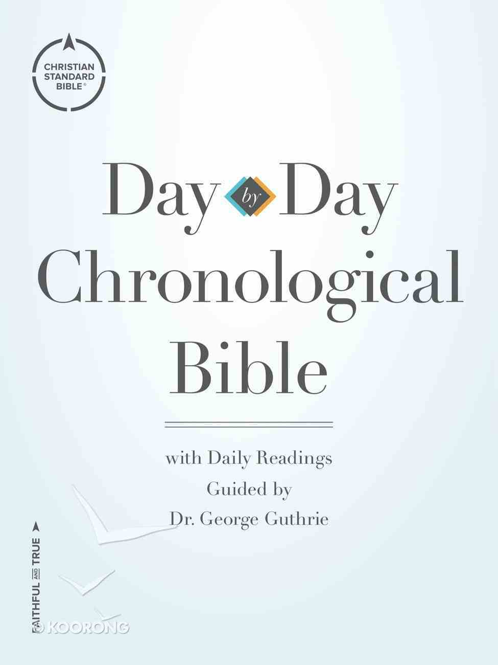 CSB Day-By-Day Chronological Bible eBook