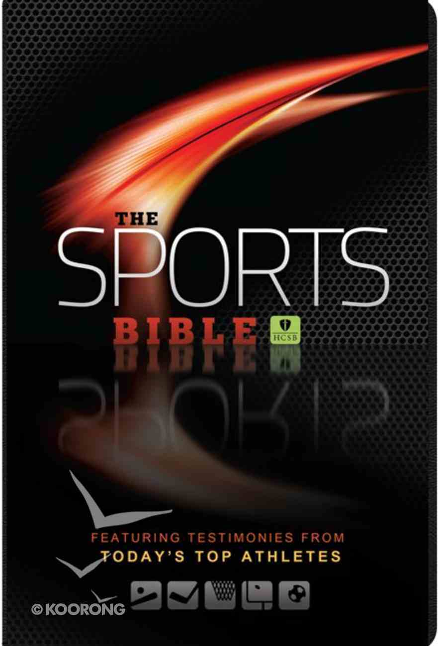 HCSB Sports Bible, the Brown Featuring Testimonies From Today's Top Athletes Imitation Leather